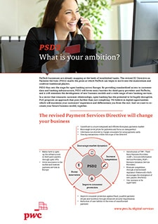PSD2: What is your ambition?