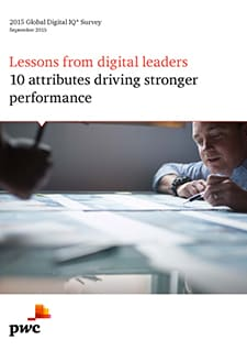 Lessons from digital leaders: 10 attributes driving stronger performance