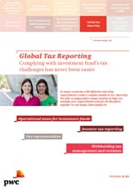 Global Tax Compliance - Complying with investment fund's tax challenges has never been easier