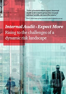 Internal Audit - Expect More: Rising to the challenges of a dynamic risk landscape