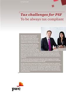 Tax challenges for PSF: To be always tax compliant