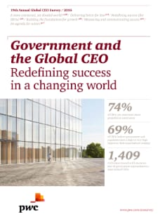 Government and the Global CEO: Redefining success in a changing world