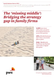 The missing middle: Bridging the strategy gap in family firms