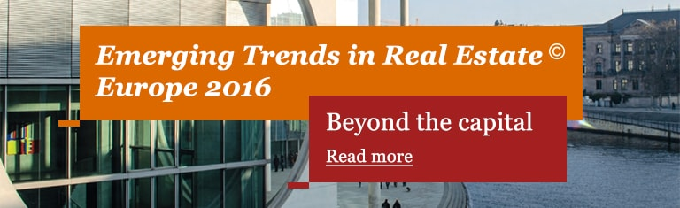 Emerging Trends in Real Estate Europe 2016