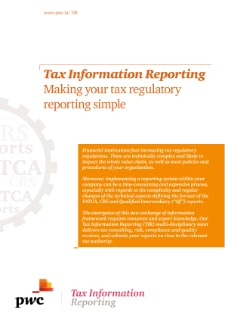 Tax Information Reporting: Making your tax regulatory reporting simple