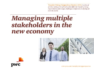 Managing multiple stakeholders in the new economy