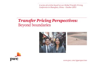 Transfer Pricing Perspectives: Beyond boundaries